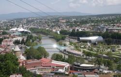 Paysages de Tbilissi en  Géorgie © Institut français de Géorgie