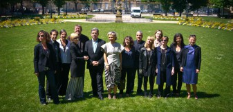 L'équipe 2012 autour de Marc Barani