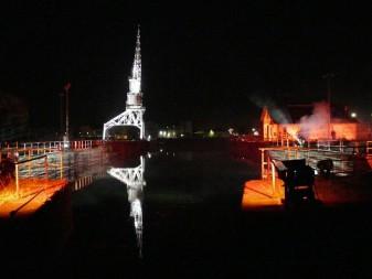 La nuit des Bassins à flot