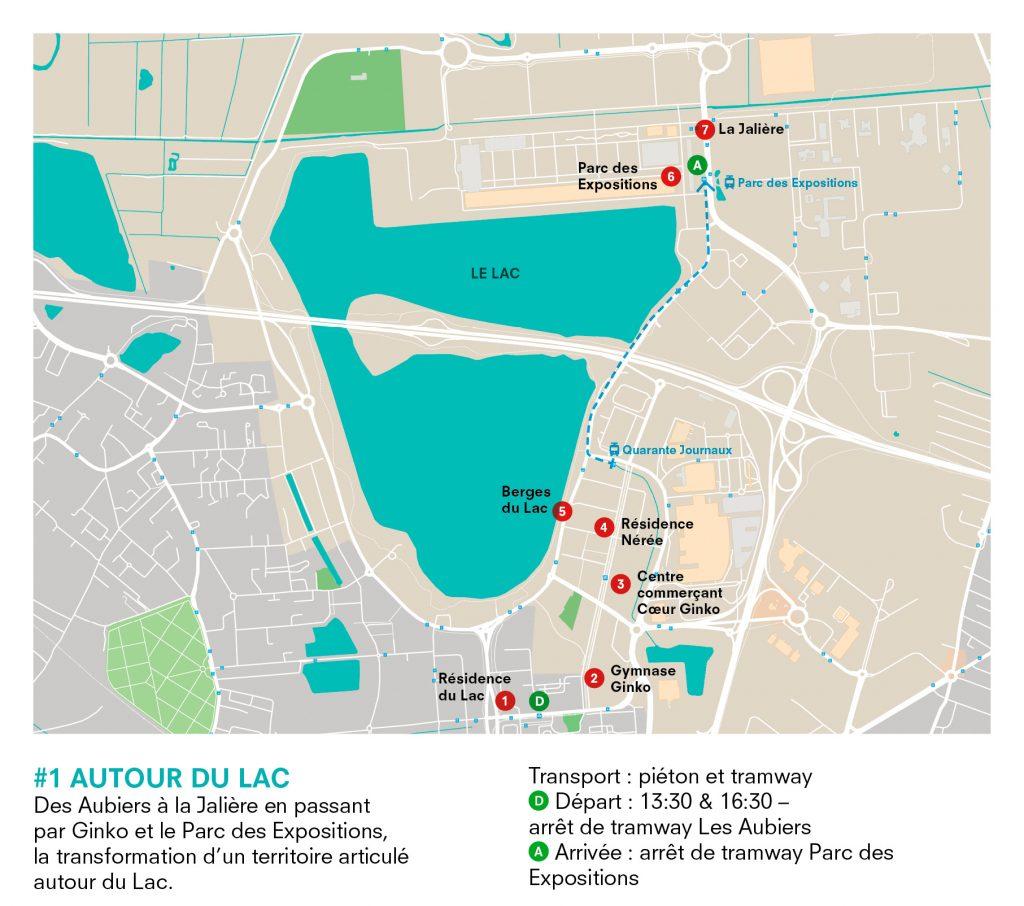 Pour Decouvrir Les Chantiers Du Quartier Ginko Des Aubiers Ou Encore Parc Expositions De Bordeaux Telecharger La Carte
