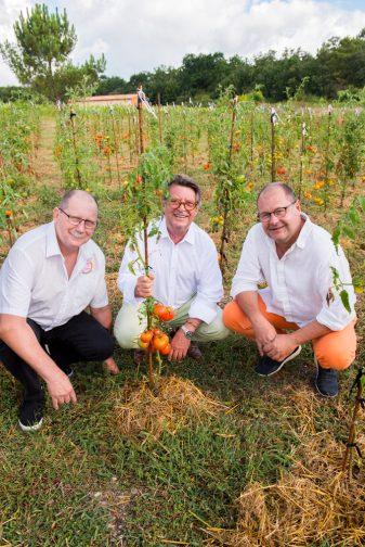 Jean-Pierre Xiradakis présente la tomate dans tous ses états